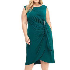 New London Times Ruffle Dress 0065